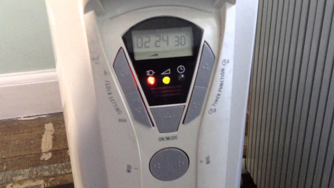 delonghi oil filled radiator repair photos [ 1280 x 720 Pixel ]
