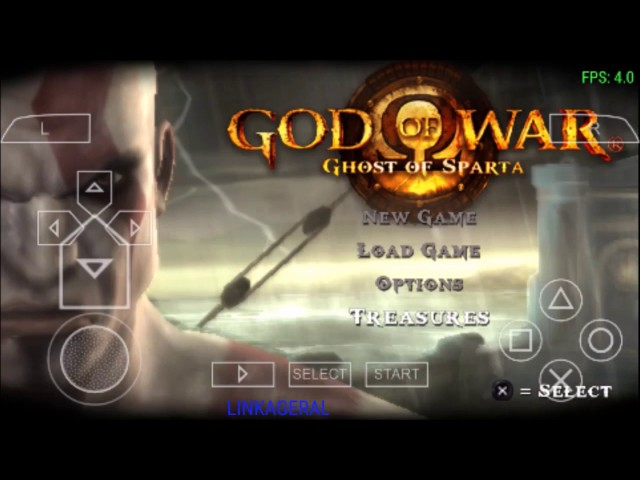 god of war ghost of sparta para android com ppsspp