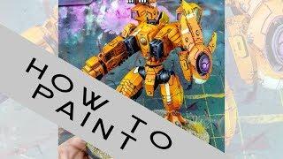 How to Paint: Orange Riptide!