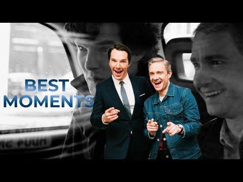 Martin Freeman and Benedict Cumberbatch  BEST MOMENTS