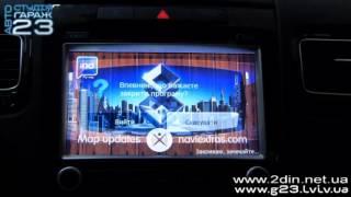 Штатная магнитола RoadRover для Volkswagen Touareg 2010-2015 - GPS навигация, USB(, 2015-09-24T09:25:14.000Z)