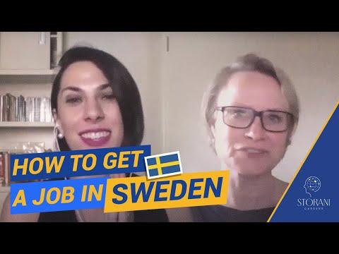 How to get a Job in Sweden feat Recruiter Karin Bjorkman