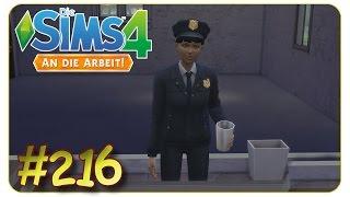 Verschwörung auf dem Polizeirevier #216 Die Sims 4 An die Arbeit - Gameplay - Let's Play thumbnail
