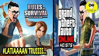 RULES OF SURVIVAL INDONESIA - LATIAN TRUSSSSSS - PS: KAK AUDRY FF TOLONG UNBANNED ID OM HENDRA SHOW