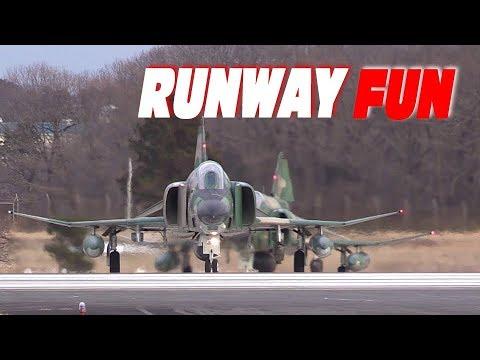 RF-4 Phantom Hyakuri Airbase 501SQ Takeoff Night Mission 航空自衛隊百里基地