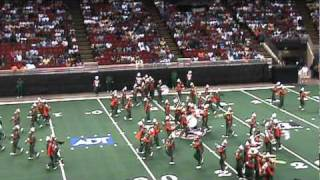 Leflore High School band at Florida classic botb in Orlando 2009