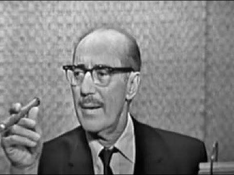 What's My Line? - Groucho Marx; Tony Randall [panel] (Oct 13, 1963)