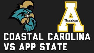 College Football Week 8 Preview: Coastal Carolina Vs Appalachian State   Analysis + Prediction