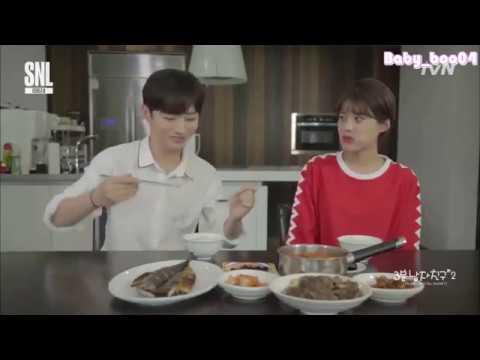 [INDO SUB] 170819 SNL Korea Season 9 - Wanna One Yoon Jisung 3 minute mother
