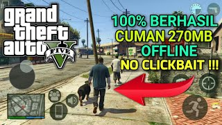 RILIS !!! GTA V Android Offline APK 270MB Terbaru 2020 - Grand Theft Auto 5 Mobile High Graphics HD