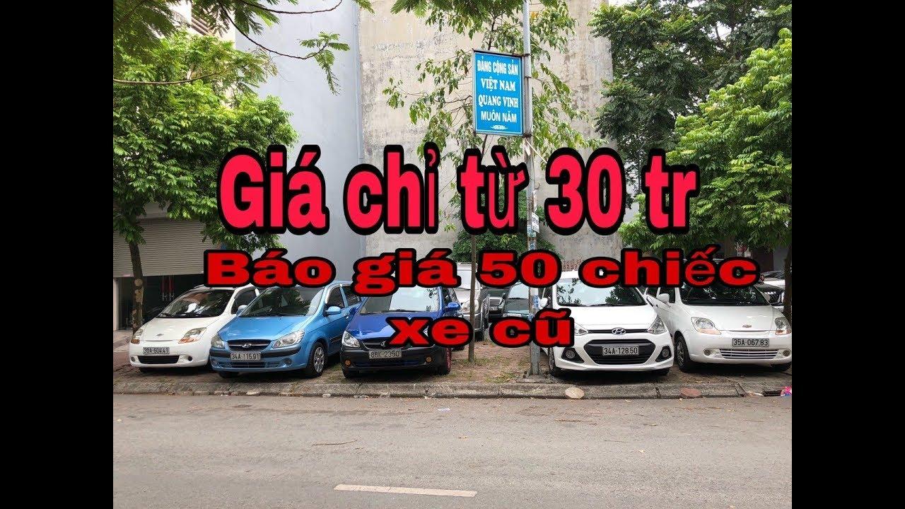 Xe ô tô cũ giá chỉ từ 30 triệu ☎️ 093.8586.307 !