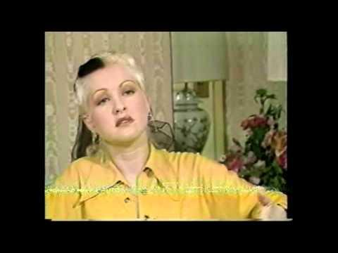 Cyndi Lauper interview 1989