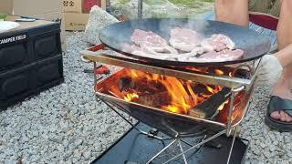 바베큐 고기 ASMR