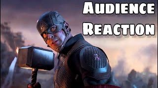 Avengers : Endgame Re-release Audience Reaction