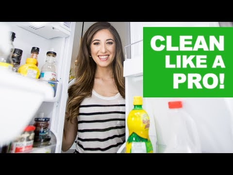 Clean Like A Pro: The Fridge (Spring Cleaning)