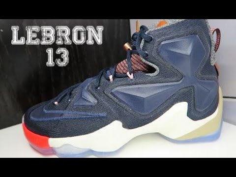 new styles b9acd 02bc2 Nike LeBron 13 EXT 'LuxBron' Sneaker Review