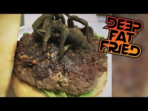 Trump Lies Again, Positive News Stories, Tarantula Burger = FLASH FRIED