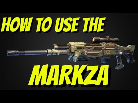 HOW TO USE THE MARKZA(GEARS 4)(IN-DEPTH) Ft. Avexys