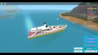roblox: the plaza | visiting the 2 islands with my yacht