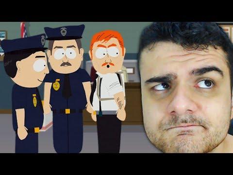South Park: O POLICIAL PREGUIÇOSO QUE ME MANDA FAZER O TRABALHO DELE - HUEstation