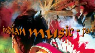 Red Indian music. Panflute. Relaxing music & photos