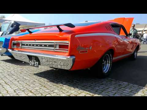 1968 Mercury Cyclone 500 - 390 CI GT V8 - Mean revving engine sound