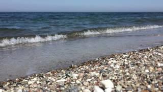 Wasser, Wellen und Steine am Gammendorfer Strand, Fehmarn