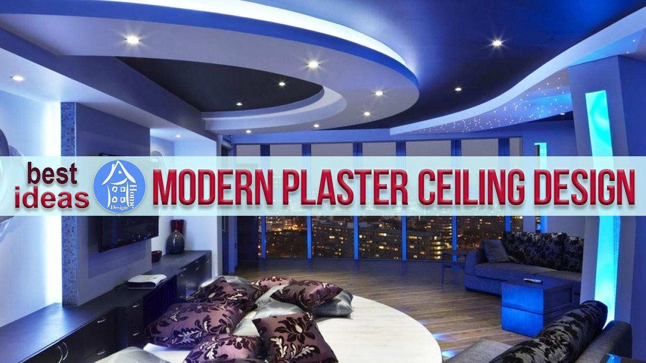 Modern Plaster Ceiling Design Ideas To Spice Up Your Home