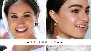 GET THE LOOK: DUCHESS ON A BUDGET |Meghan Markle's Wedding Makeup (DRUGSTORE)