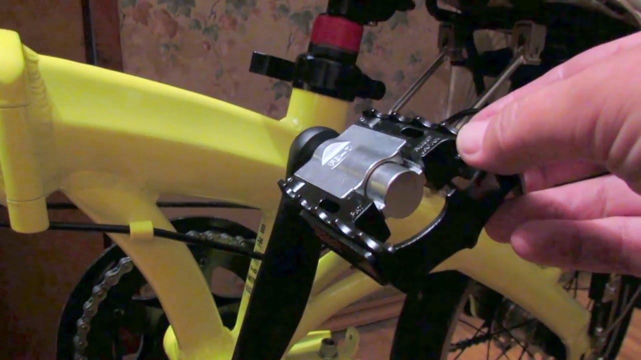 Поставил на велосипед складные педали MKS FD-7