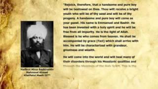 Divine Revelation Concerning Hadhrat Mulseh Maud (ra) (English)