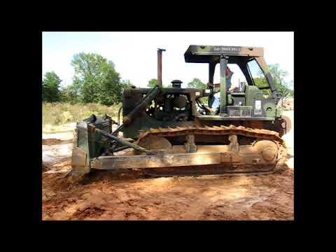 Caterpillar D7G Military Crawler Tractor Dozer - govdeals com