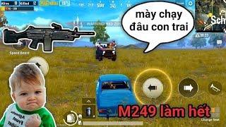 PUBG Mobile - Cái Kết Khét Lẹt Khi 1 Team Dí Theo M249 | Khi Bạn Quá Húng..