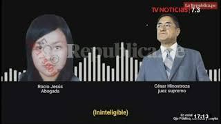César Hinostroza conversa con candidatas a la Corte Superior de Lima Sur