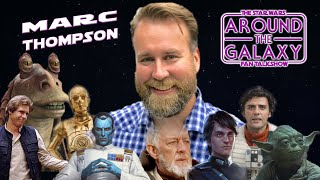 Thrawn, Han Solo and Jar Jar visit thanks to Star Wars Audiobooks' Marc Thompson | Around the Galaxy