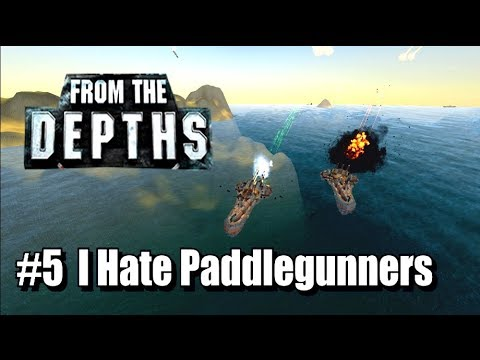 From the Depths - Neter Campaign, Part 5 - I Hate Paddlegunners
