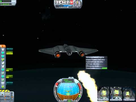 How to Take a Spaceplane To Orbit In Kerbal Space Program