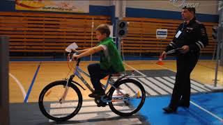 Сланцевская команда стала призером областных соревнований «Безопасное колесо»