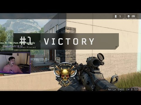 Pamaj - MY FIRST 20 KILL GAME EVER: Solo Squads (COD:BO4 Blackout)