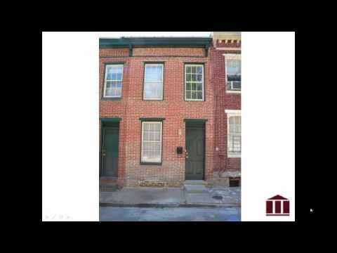 Baltimore Real Estate Investment - Rental Rehab - 1515 Lemmon St