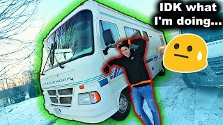 Dropped out of college, became a YouTuber, and now I bought an old RV...