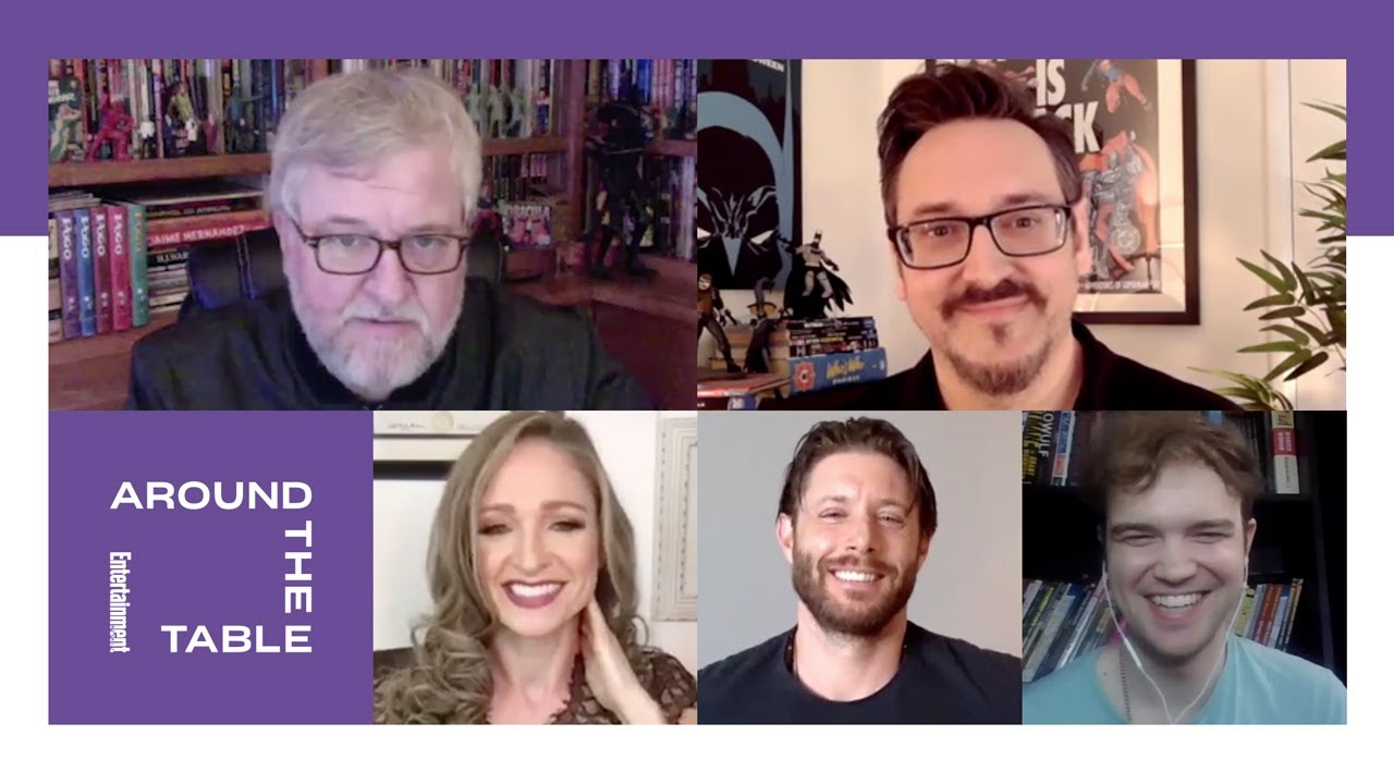 'Batman: The Long Halloween, Part One' Cast Interview | Around the Table