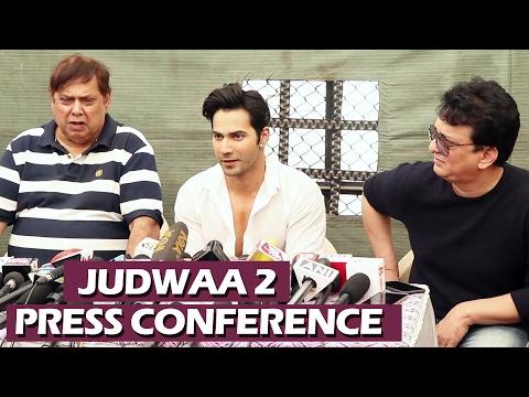 Judwaa 2 Press Conference | Full Video HD | Varun Dhawan, David Dhawan, Sajid  | 20 Years Of Judwaa
