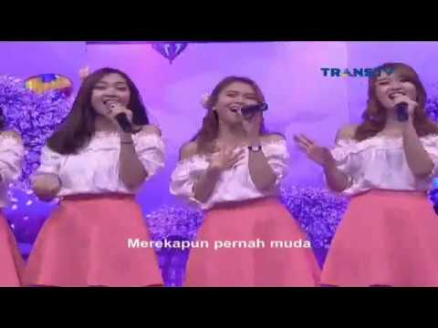 Cherrybelle - Pernah Muda A Night To Remember TransTV 22 Oktober 2016