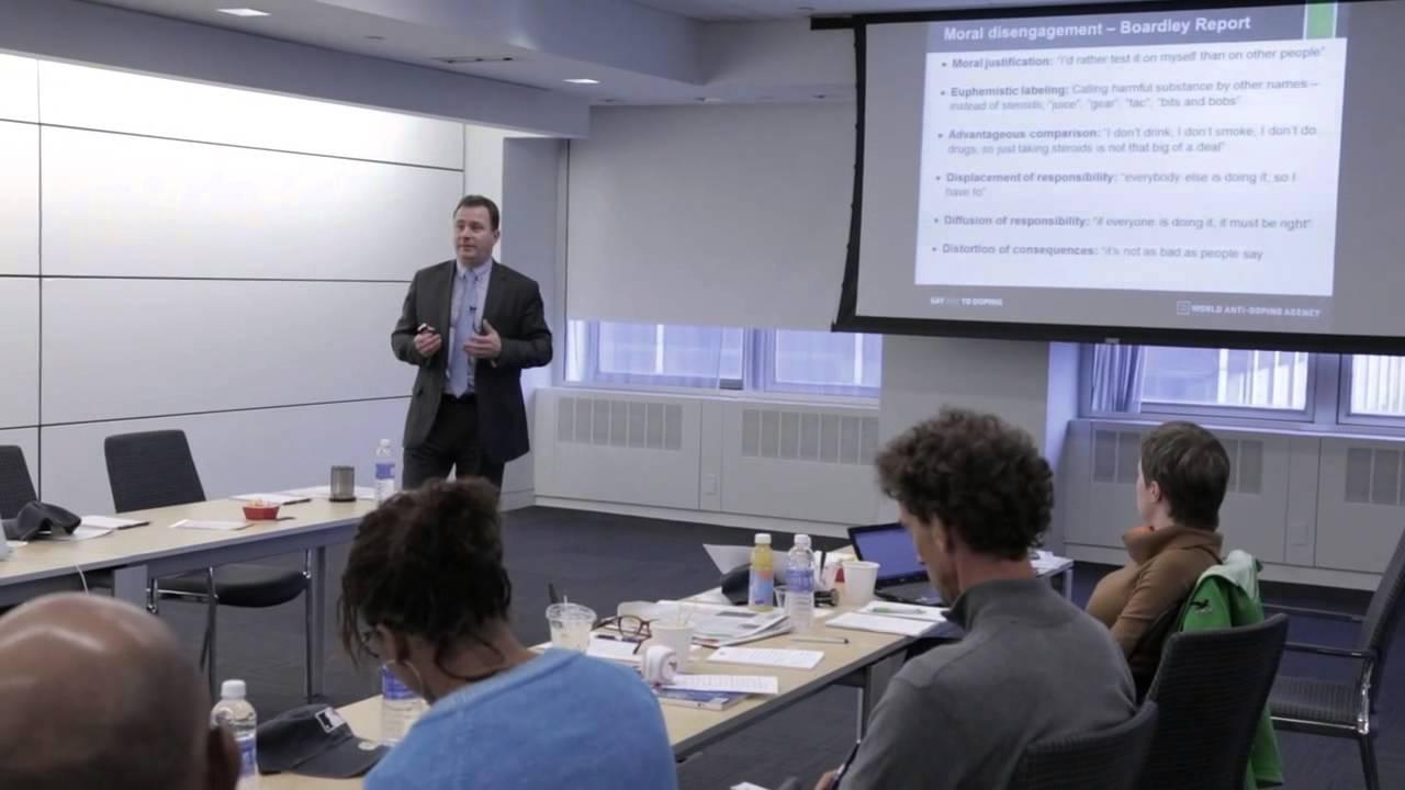 WADA - Rob Koehler Education presentation - YouTube