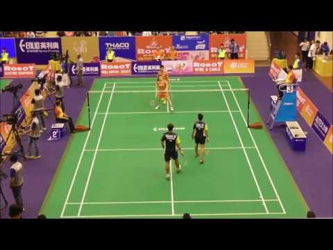 ROBOT Badminton Asia Mixed Team Championships 2017 - ( Group C ) Japan Vs Philippines