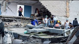 Massive earthquake rocks Mexico, 139 dead, more feared trapped