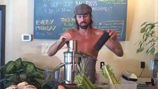 GREEN JUICE RECIPE ~ LIFEREGENERATOR ENERGY DRINK!