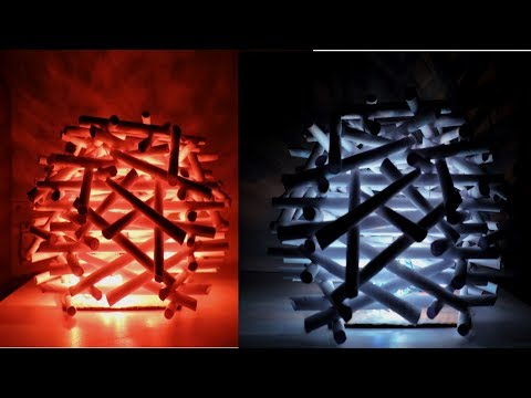 Diy Paper/Newspaper Birds Nest Night Lamp/ Newspaper crafts at home/best out of waste