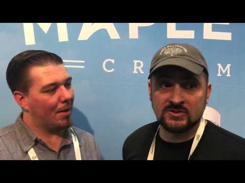 Holistic Farms - Grassfed Cattle - Organic Milk Maple Hill Creamery at Expo West 2016